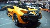 Gumpert Apollo Arrowrear left three quarter at 2016 Geneva Motor Show