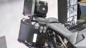 Harley Davidson 750 Stealth (Adventure Custom) luggage boxes at 2016 BIMS
