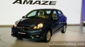 Honda Amaze facelift new blue colour