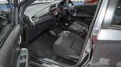 Honda BR-V front seat at the 2016 BIMS