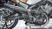 Honda CB650 Scrambler Concept exhaust at 2016 BIMS