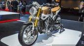 Honda CB650 Scrambler Concept front quarter at 2016 BIMS