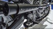 Honda CB650 Scrambler Concept megaphone exhaust at 2016 BIMS