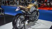Honda CB650 Scrambler Concept rear quarter right at 2016 BIMS