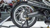 Honda CB650 Scrambler Concept swingarm at 2016 BIMS