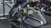 Honda CBR500R custom by K-Speed fuel tank pads at 2016 BIMS