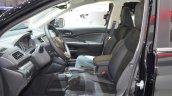 Honda CR-V Black edition front seats at GIMS 2016