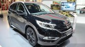 Honda CR-V Black edition front three quarter at GIMS 2016