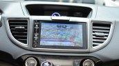 Honda CR-V Black edition infotainment navigation system at GIMS 2016