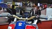 Honda CRF1000L Africa Twin instrument panel at the 2016 Geneva Motor Show