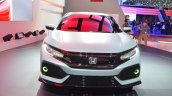 Honda Civic Hatchback Prototype front fascia at the 2016 Geneva Motor Show
