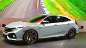 Honda Civic Hatchback Prototype front three quarter at the 2016 Geneva Motor Show