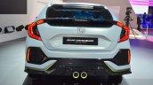Honda Civic Hatchback Prototype rear at the 2016 Geneva Motor Show