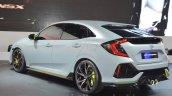 Honda Civic Hatchback Prototype rear three quarter view at the 2016 Geneva Motor Show