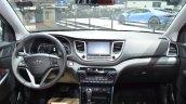 Hyundai Tucson dashboard at 2016 Geneva Motor Show