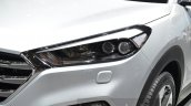 Hyundai Tucson headlamp at 2016 Geneva Motor Show