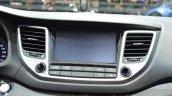 Hyundai Tucson infotainment at 2016 Geneva Motor Show