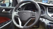 Hyundai Tucson steering wheel at 2016 Geneva Motor Show
