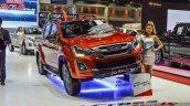 Isuzu D-Max V-Cross Limited front at 2016 BIMS