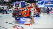Isuzu D-Max V-Cross Limited front three quarter at 2016 BIMS