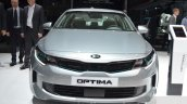 Kia Optima Plug-in Hybrid front at the 2016 Geneva Motor Show