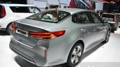 Kia Optima Plug-in Hybrid rear three quarter at the 2016 Geneva Motor Show