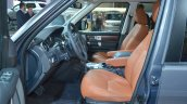 Land Rover Discovery Landmark Edition front seats