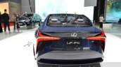 Lexus LF-FC concept rear at the 2016 Geneva Motor Show
