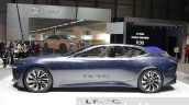 Lexus LF-FC concept side at the 2016 Geneva Motor Show