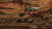 Maruti Vitara Brezza Car No 2 at the National Super League Rally Championship