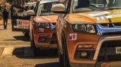 Maruti Vitara Brezza Car No 6 at the National Super League Rally Championship