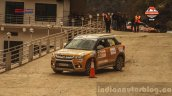 Maruti Vitara Brezza at the National Super League Rally Championship