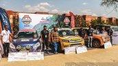 Maruti Vitara Brezza first place at round 1 of Maruti Suzuki National Super League Rally Championship