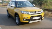 Maruti Vitara Brezza front dynamic First Drive Review