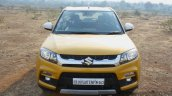 Maruti Vitara Brezza front high First Drive Review