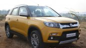 Maruti Vitara Brezza front quarter First Drive Review