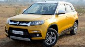 Maruti Vitara Brezza front quarter toe in First Drive Review