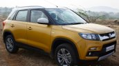 Maruti Vitara Brezza front three quarter First Drive Review