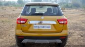 Maruti Vitara Brezza rear First Drive Review
