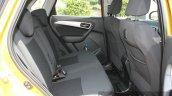 Maruti Vitara Brezza rear cabin First Drive Review