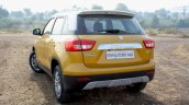 Maruti Vitara Brezza rear quarter First Drive Review