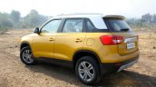 Maruti Vitara Brezza rear three quarter First Drive Review