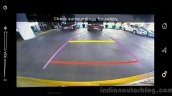 Maruti Vitara Brezza rear view camera First Drive Review