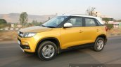 Maruti Vitara Brezza  side dynamic First Drive Review