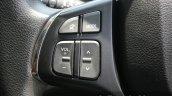 Maruti Vitara Brezza steering left spoke First Drive Review