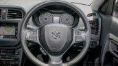 Maruti Vitara Brezza steering wheel First Drive Review