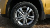 Maruti Vitara Brezza wheel First Drive Review