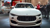 Maserati Levante front at the 2016 Geneva Motor Show Live