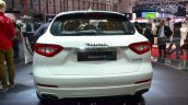 Maserati Levante rear at the 2016 Geneva Motor Show Live