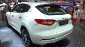 Maserati Levante rear quarter at the 2016 Geneva Motor Show Live